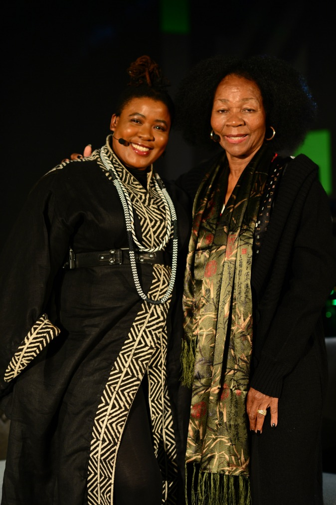 gallery/thandiswa mazwai and letta mbulu after the ampd icons conversation
